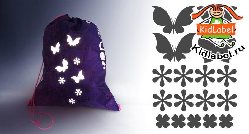 Стикеры для одежды светоотражающие (термоклеющиеся) - фото 3