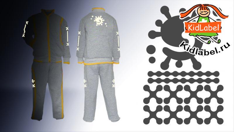 Стикеры для одежды светоотражающие (термоклеющиеся) - фото 10