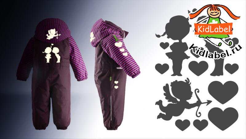 Стикеры для одежды светоотражающие (термоклеющиеся) - фото 6